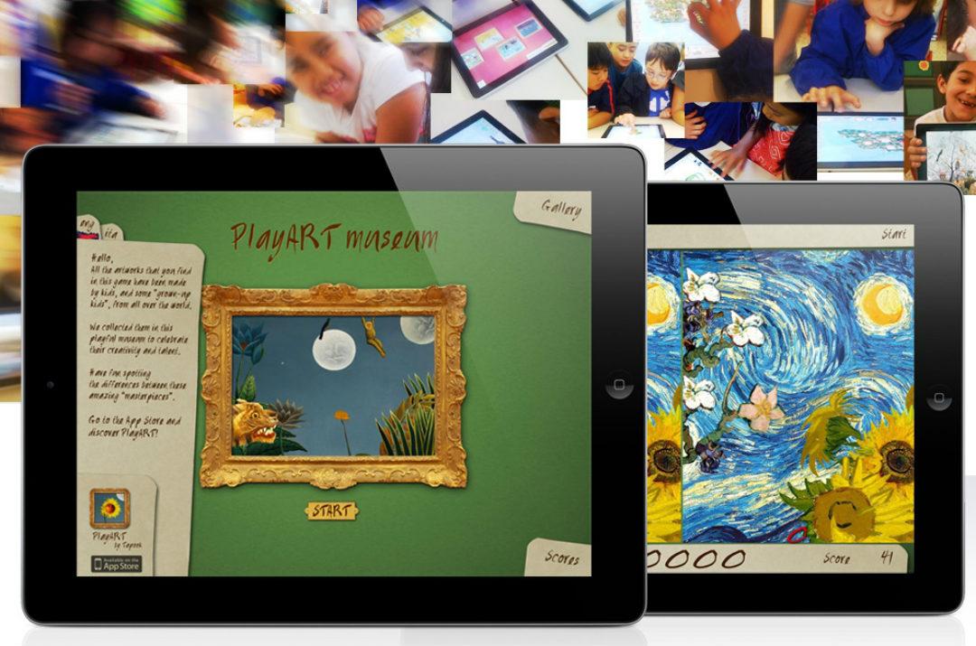 arte per bambini playart museum app