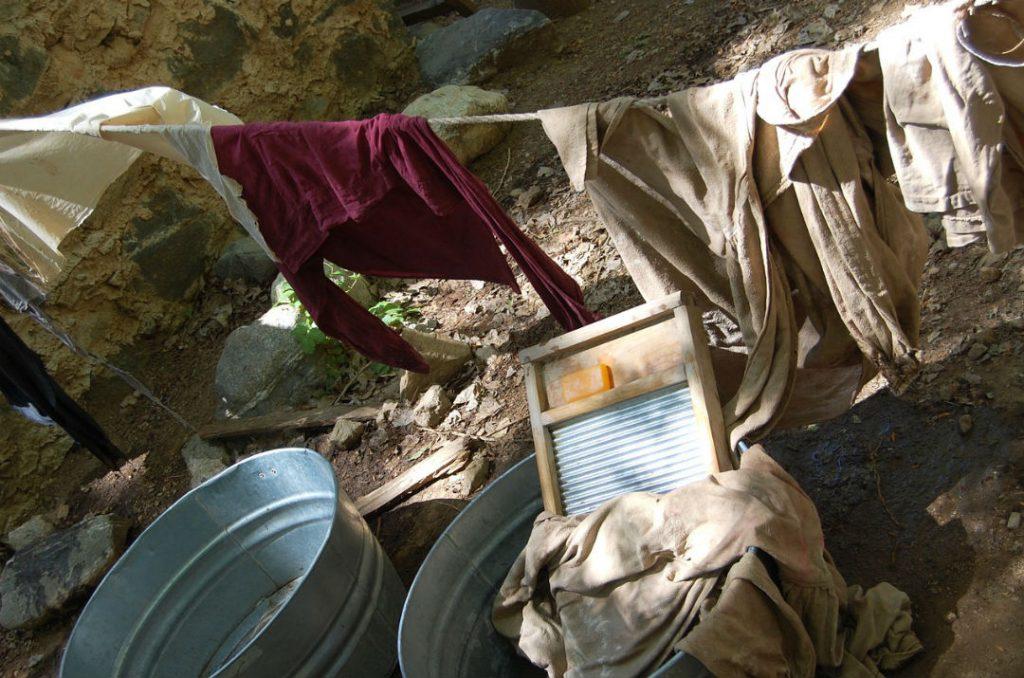 lavanderia con lisciva