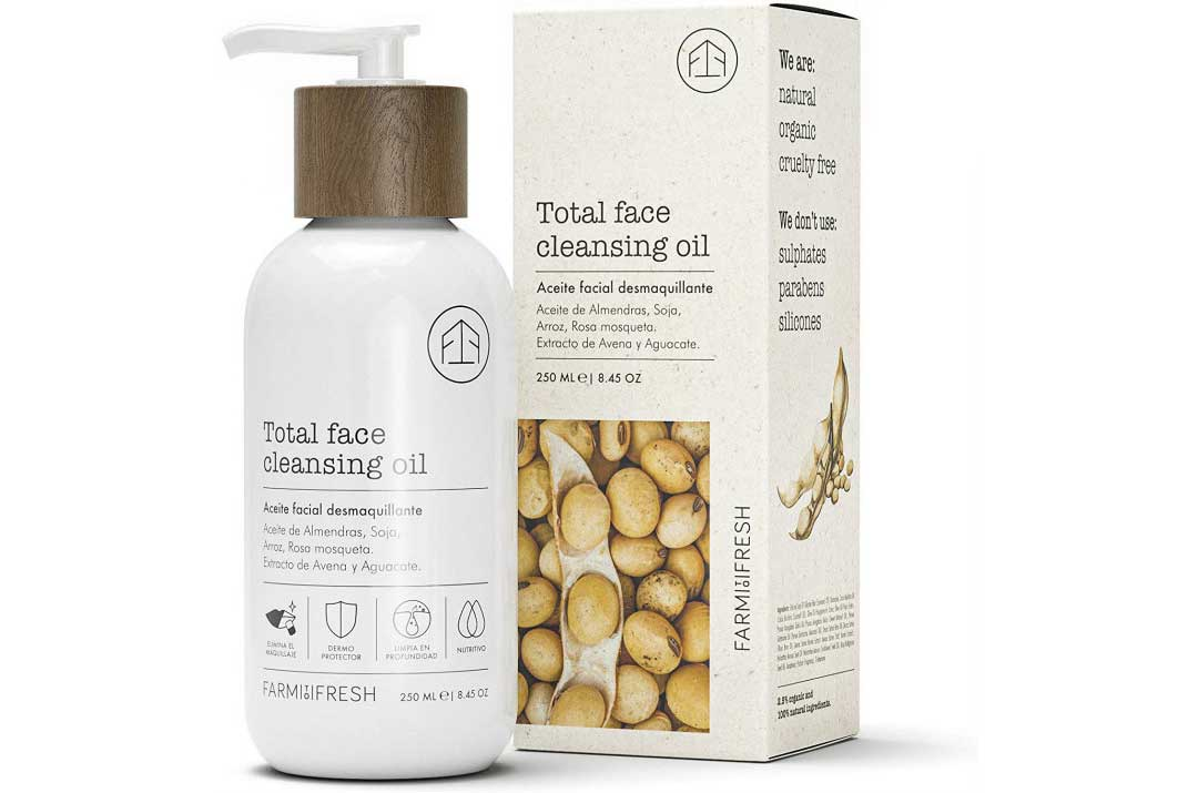 farm to fresh total face cleansing oil